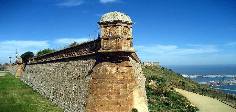 Foto von der Festung Castell de Montjuic