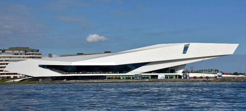 Außenansicht des Filmmuseum in Amsterdam