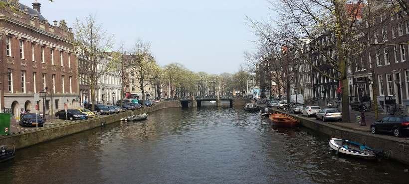 Bild von einem Grachten in Amsterdam