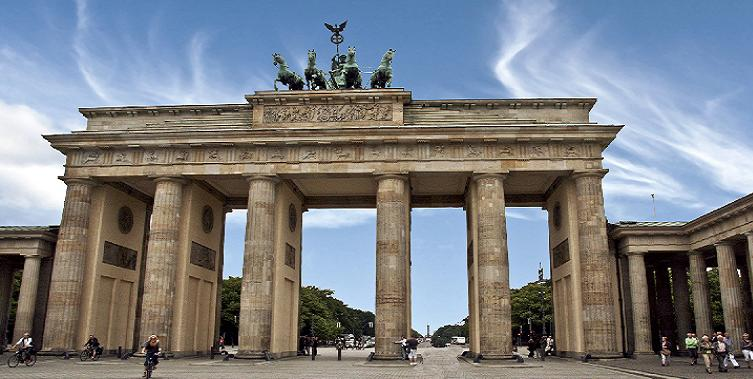 Bild vom Brandenburger Tor in Berlin