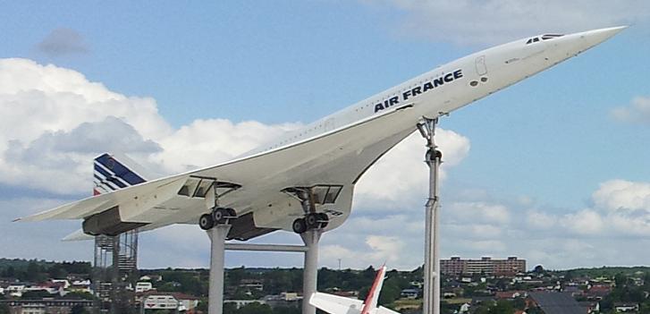 Bild von der Concorde in Sinsheim
