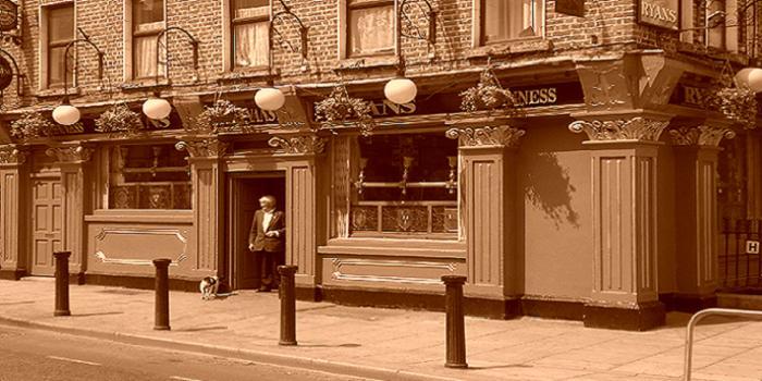 Bild von einem Irish Pub in Dublin