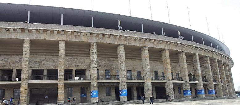 Bild vom Olympiastadion Berlin