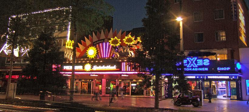 Bild Reeperbahn in der Nacht