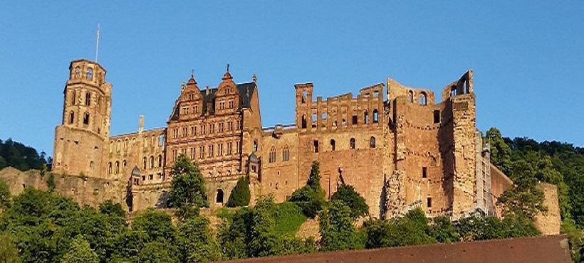 Bild vom Schloss Heidelberg