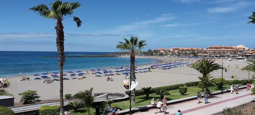 Bild vom Strand Playa de las Vistas