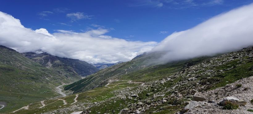 Bild vom Rothang Pass